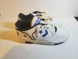 🔥 Vintage Converse Cons Erx 150  Low Tops White Blue Bask