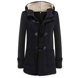 AgrinTol Women Warm Coat Women Long Sleeve Pullover Winter B