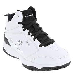 23197d2f2b82 Champion White Black Boys  Contender Basketball Shoe 4 Regul