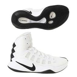 Nike Women's Hyperdunk 2016 Basketball Shoes, White/Black, 5