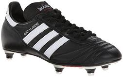 adidas Performance Men's World Cup Soccer Cleat, Black/White
