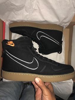 Nike x Carhartt WIP Vandal Hi Black/Gum Size: US 9.5 / UK 8.