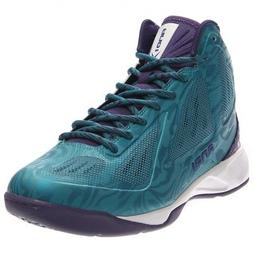 AND1 Xcelerate Mid Basketball Shoes - Blue - Mens