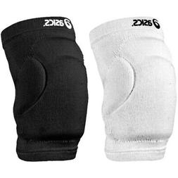 Asics ZD0152 Adult Slider Knee Pads Black & White Athletic V