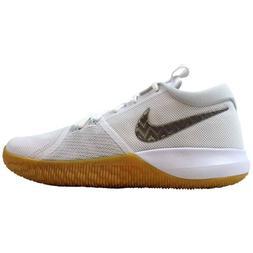 Nike Zoom Assersion Basketball Shoes White Chrome Gum 917505