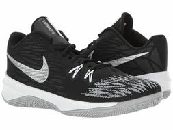 Nike Zoom Evidence II Men Basketball Shoes 12 Black/Metallic