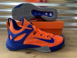 Nike Zoom Hyperrev 2015 Basketball Shoes Total Orange Blue S