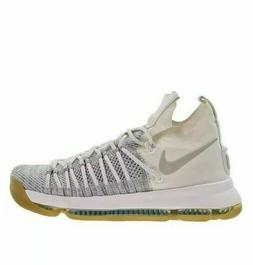 Nike Zoom KD 9 Elite Mens Basketball Shoes 10.5 Pale Grey Iv