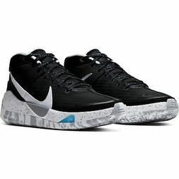 zoom kd13 basketball shoes black white wolf