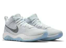 Nike Zoom Rev Mens Basketball Shoes White Reflective Silver