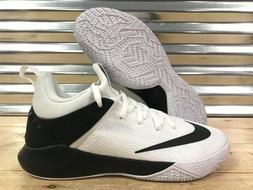 Nike Zoom Shift TB Basketball Shoes White Black Oreo SZ 13